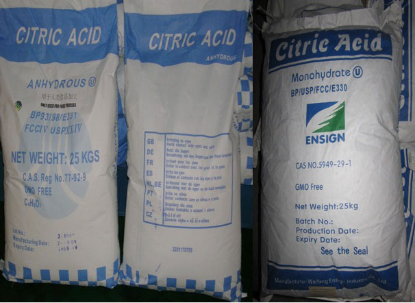 اسید سیتریک Citric Acid